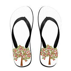 I Like Apple Tree Fruit Flip Flops Beach Slippers *** You can get more details by clicking on the image.
