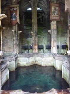 The 7 wonders of Wales, St Winefride's Well, Holywell