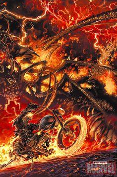 Ghost Rider by Clayton Crain