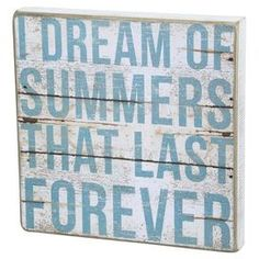 Summer Forever Wall Decor