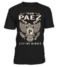Team PAEZ - Lifetime Member