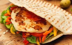 Sweet Chilli Halloumi and Pitta Recipe