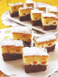 » Prajitura cu branza si stafideCulorile din Farfurie Cheesecake, Desserts, Food, Tailgate Desserts, Deserts, Cheese Cakes, Eten, Postres, Dessert