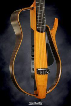 Yamaha SLG130NW Silent Guitar (Nylon String, Wood Frame)