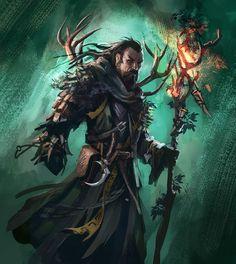 Adventure Fantasy : Daily sketches week by Tomasz Chistowski High Fantasy, Fantasy Rpg, Medieval Fantasy, Fantasy Artwork, Dnd Characters, Fantasy Characters, Fantasy Character Design, Character Art, Rpg Horror