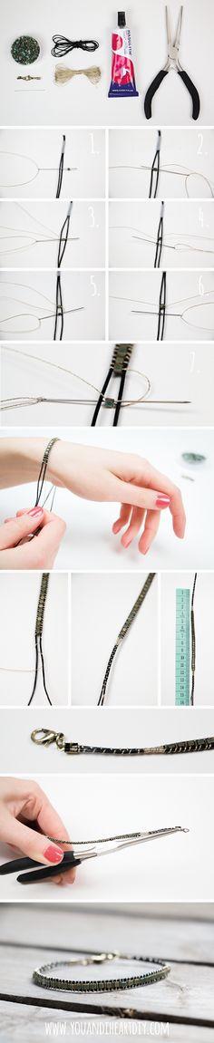 You and I ♥ DIY: DIY Perlenarmband