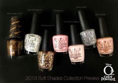 OPI : oz collection ... i see lots of glitter!