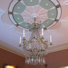 A magnificence chandelier!  9.24.13: Big Old Houses: Third Time's the Charm   New York Social Diary