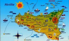 Sicily, we are coming! Cooking Chef, Sicily, Food And Drink, Biscotti, Facebook, Places, Pizza, 1, Travel