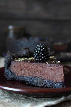 Chocolate and Blackberry Tart