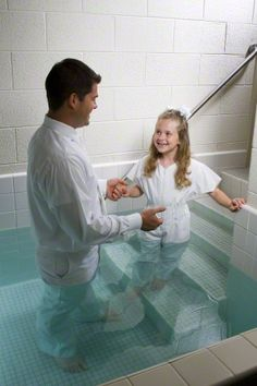 Preparing for Baptism (great to have on hand). This picture brings back so many great memories. I can't wait for my daughters to say they are ready. <3