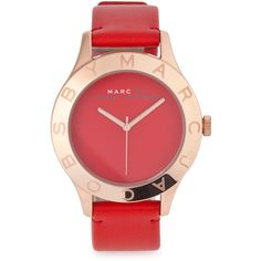 Marc By Marc Jacobs Blade Stainless Steel Watch ($285) ❤ liked on Polyvore