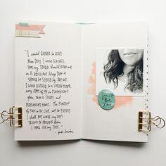 April Traveler's Notebook — bananafishstudio