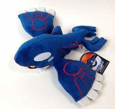 Pokemon Center 2014 Kyogre Plush Toy