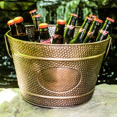 http://www.brekx.com/brekx-hillcrest-copper-finish-pebbled-beverage-bucket/ Use Coupon Code 'HAPPYHOLIDAYS' for 20% LIMITED TIME ONLY!