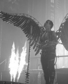 Rammstein - Engel on stage. .Emy Cubbins.
