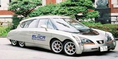 Documental sobre el prototipo Eliica, un coche de batería eléctrica del 2004 y diseñado por un equipo de la Universidad de Keio en Tokio.