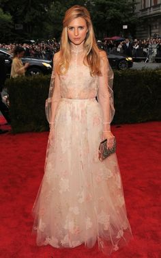 MET Gala 2012 - Brit Marling. One of my favs from this year! MMmm valentino <3