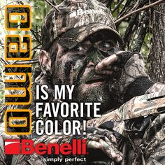 Camo is my favorite color! #Benelli