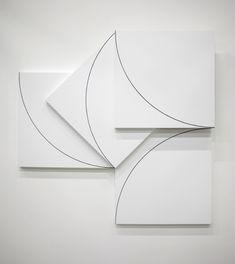 François Morellet, Rococoncret, abstraction, art, minimal, noir et blanc, black & white