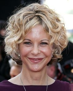 This is a Meg Ryan Classical Short Short Wavy Bob Straight Human Hair Wig at aliwigs. if you are a remy hair wig lover with a tight budget, this Meg Ryan Classical Short Short Wavy Bob Straight Human Hair Wig would definetly for you. Short Curly Bob Haircut, Short Curly Hairstyles For Women, Wavy Bob Hairstyles, Short Wavy Hair, Curly Hair Cuts, Curly Hair Styles, Thin Hair, Short Curls, Medium Curly