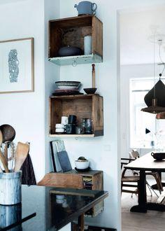 Stylistens køkken med cool kontraster - Boligliv