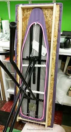 http://www.bkgfactory.com/category/Ironing-Board/ Prairie Peasant: Ironing Board Makeover More
