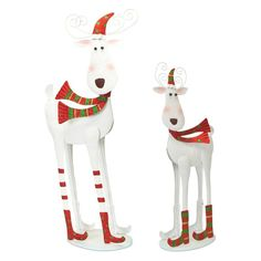 Melrose Bobblehead Reindeer Set - 57504