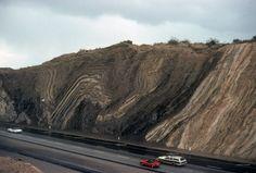 San Andreas fault at Palmdale, CA