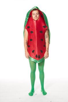 Harry Styles Snl, Harry Styles Baby, Harry Styles Pictures, Harry Edward Styles, Watermelon Costume, Harry 1d, Harry Styles Wallpaper, Mr Style, Treat People With Kindness