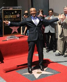 Giancarlo Esposito is honored on the Hollywood Walk of Fame in Hollywood, Calif., on April 29, 2014