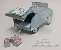 Tutorial for wedding or anniversary getaway convertible gift card holder