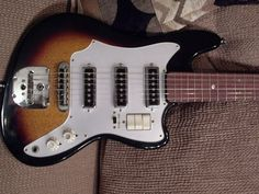 Old 60's/70's Teisco guitars - Forums
