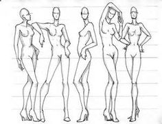 Figure Drawing Poses Fashion Illustration for Designers Fashion Figure Drawing, Fashion Model Drawing, Fashion Model Poses, Fashion Design Drawings, Fashion Sketches, Learn Drawing, Fashion Illustration Poses, Fashion Illustration Template, Fashion Illustrations