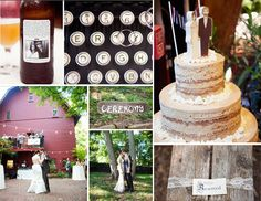 eco wedding for cheap - as this blogger points out, is it really rustic if you spend 65k??