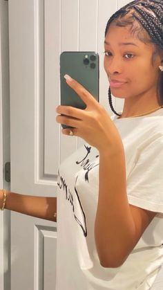 Straight Weave Hairstyles, Black Girl Braided Hairstyles, Braid Out Natural Hair, Natural Hair Styles, Hair Ponytail Styles, Braids Hairstyles Pictures, Simple Ponytails, Birthday Hair, Box Braids Styling