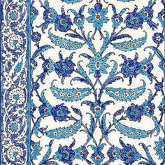 Schumacher Topkapi Peacock Wallpaper