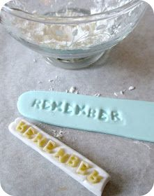...Make It With Me: Alphabet Noodle Letters for Stamping Clay