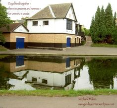 Days blend together - haiku  pic - by the Thames UK