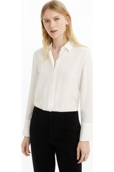 001198ae52 Club Monaco Silk Shirt Work Style #TheStoriedLife Lana Jackson DC Stylist  The Storied Life Helek