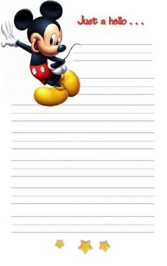 Everything to do with celebrating the magic of Disney! Stationary Printable, Printable Lined Paper, Disney Scrapbook, Scrapbook Cards, Scrapbooking, Disney Frames, Autograph Book Disney, Disney Cards, Stationery Paper