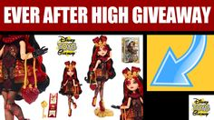 Free Stuff EVER AFTER HIGH GIVEAWAY Contest #33 OPEN - Ever After High D...