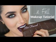 Fall Makeup using the Too Faced Chocolate Bar palette | Melissa Alatorre - YouTube