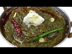 पंजाबी स्टाइल सरसो का साग बनाने की विधि   Sarson Ka Saag Recipe   Traditional Saag RECIPE - YouTube