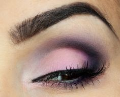 Daria Kłosowicz beauty blog: pink and violet