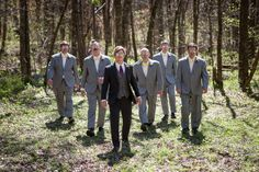 So much style!  Really Fun Spring Wedding at Cedars of Lebanon State Park Nashville. Groomsmen and Groom with sunglasses.  Fun Wedding Photo