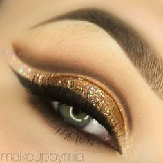 10 maquiagens com sombra dourada