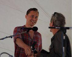 Tom Hiddleston on Wheatland Music Festival. 6 sept. 2014
