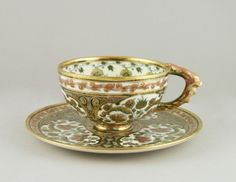 Zsolnay cup and saucer