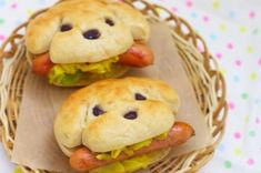 How to make hot dog bread. ♥how to make hot dog buns Cute Food, Good Food, Yummy Food, Awesome Food, Tasty, Yummy Yummy, Hot Dog Buns, Hot Dogs, Dog Bread